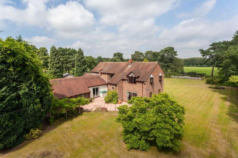 4 Bedrooms Detached House for sale in Northwich Road, Cranage