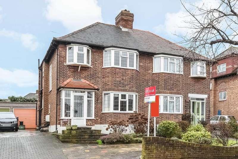 3 Bedrooms Semi Detached House for sale in Lorne Gardens, Croydon