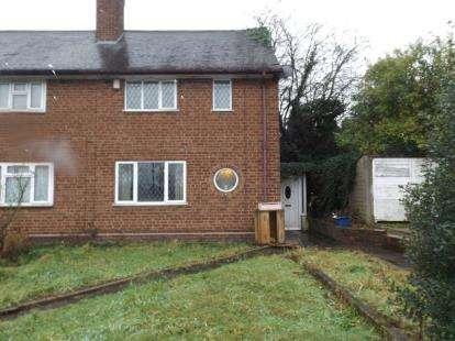 2 Bedrooms Semi Detached House for sale in Drews Lane, Ward End, Birmingham, West Midlands