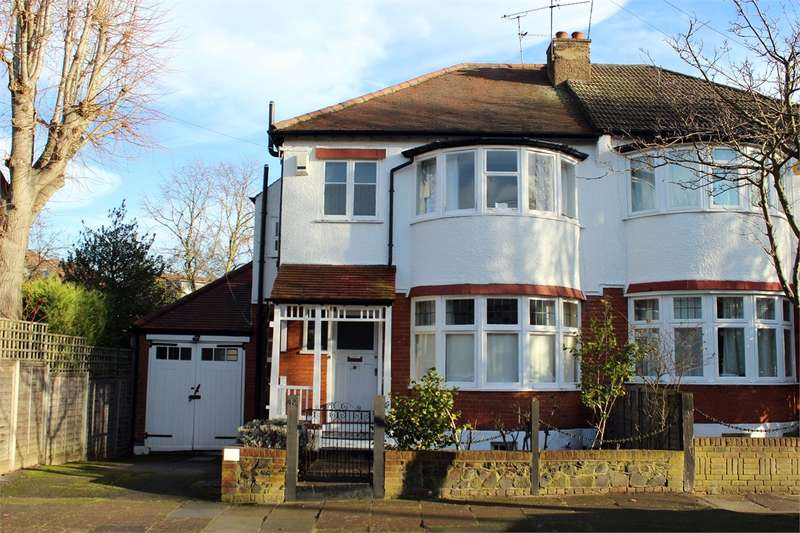 3 Bedrooms Semi Detached House for sale in Thirlmere Road, Muswell Hill, London
