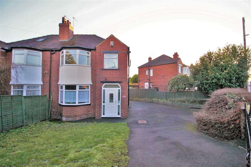 3 Bedrooms Semi Detached House for sale in Dewbury Road, Beeston, Leeds