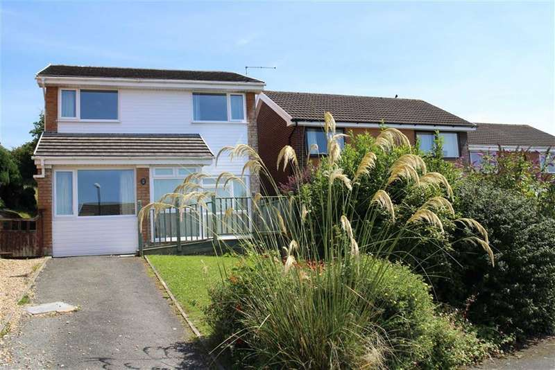4 Bedrooms Detached House for sale in Maesceinion, Waunfawr, Aberystwyth
