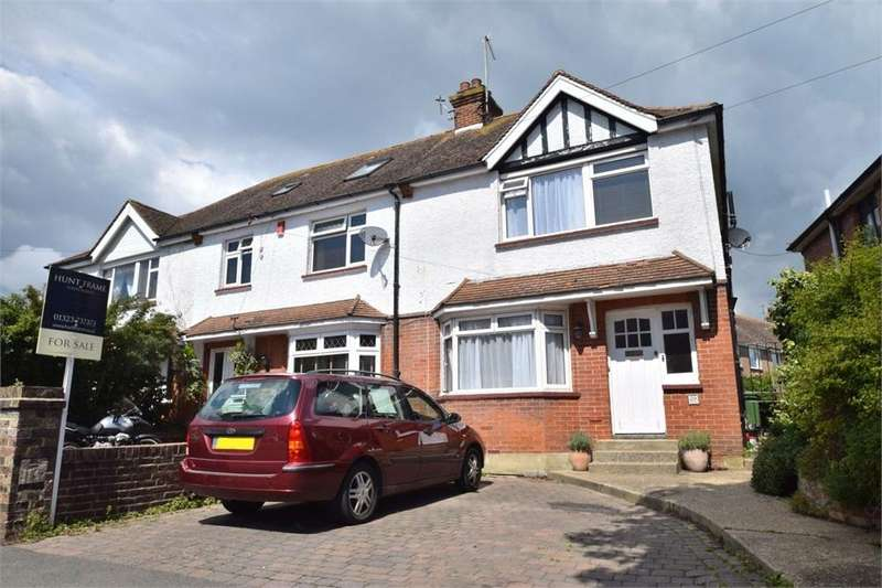 3 Bedrooms End Of Terrace House for sale in Queens Crescent, St Anthonys, East Sussex