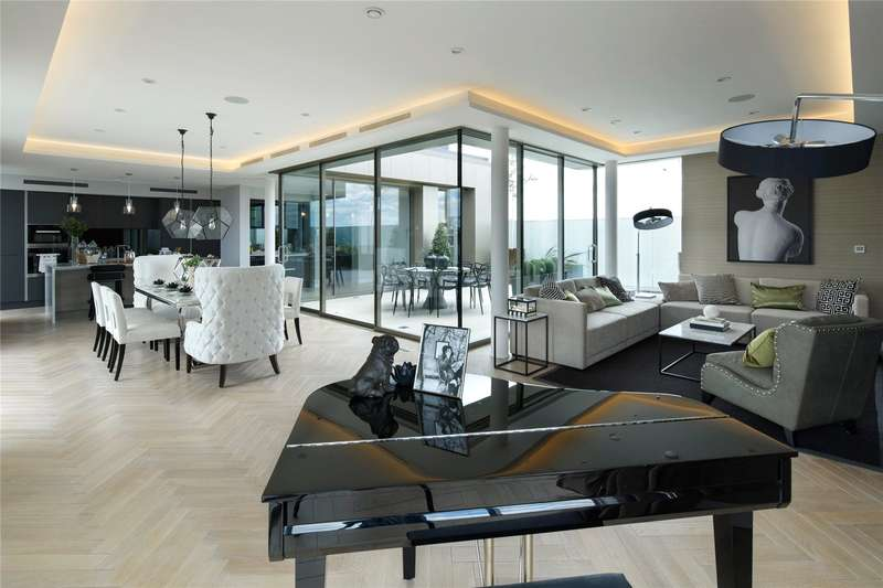 3 Bedrooms Flat for sale in The Penthouse, Madison Apartments, Wyfold Road, London, SW6