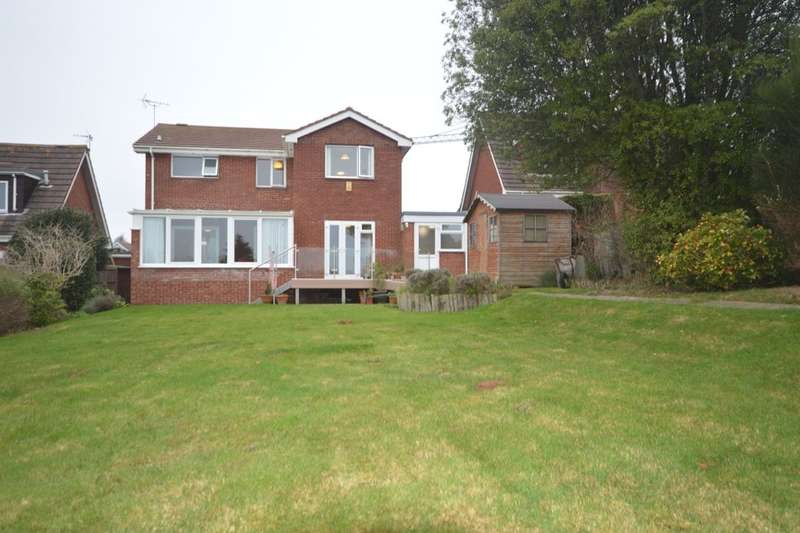 4 Bedrooms Detached House for rent in Buckingham Close, Exmouth, EX8