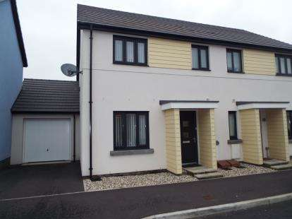 3 Bedrooms Terraced House for sale in Saltram Meadow, Plymstock, Devon