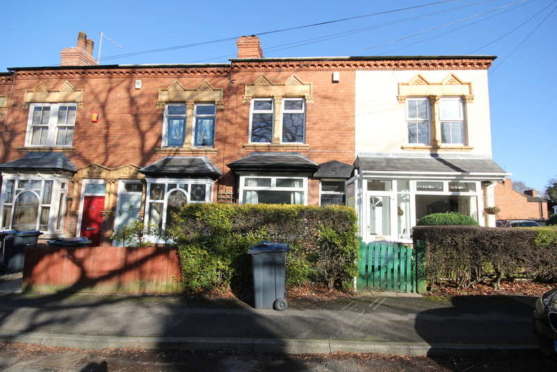 2 Bedrooms Terraced House for rent in Victoria Road, Harborne, B17