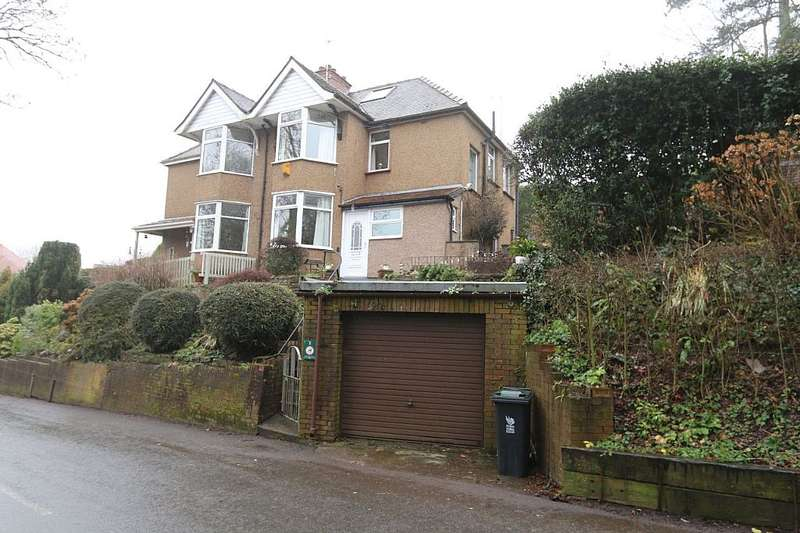 3 Bedrooms Semi Detached House for sale in Allt-yr-Yn Road, Newport, Newport, NP20 5EF
