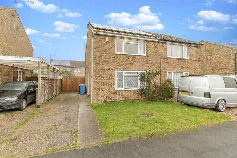 2 Bedrooms Semi Detached House for rent in Conway Drive, Burton Latimer