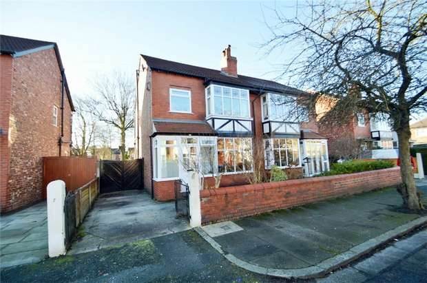 4 Bedrooms Semi Detached House for sale in Akesmoor Drive, Mile End, Stockport, Cheshire