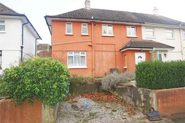 3 Bedrooms Semi Detached House for sale in Fegen Road, Plymouth, Devon