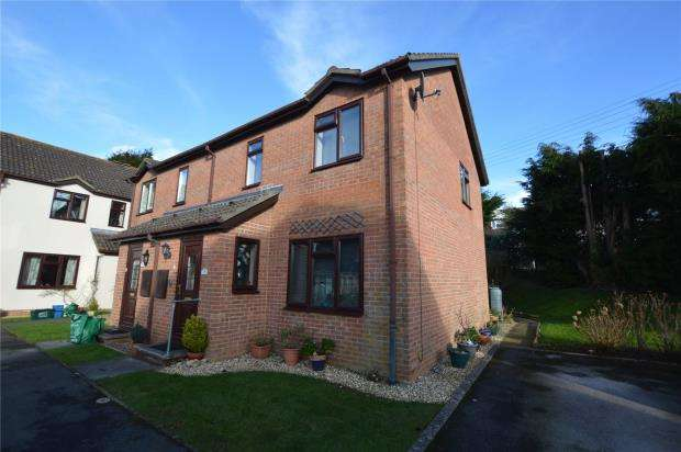 2 Bedrooms Semi Detached House for sale in Fairfield Gardens, Honiton, Devon
