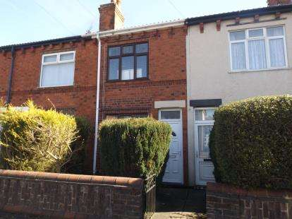 2 Bedrooms Terraced House for sale in Carnarvon Grove, Sutton-In-Ashfield, Nottinghamshire