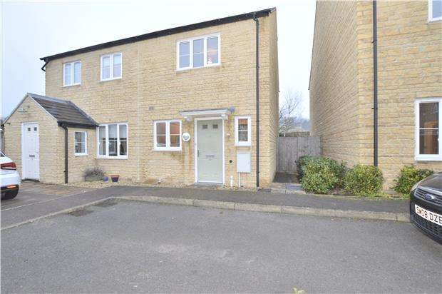 2 Bedrooms Semi Detached House for sale in Breaches Close, Woodmancote, GL52