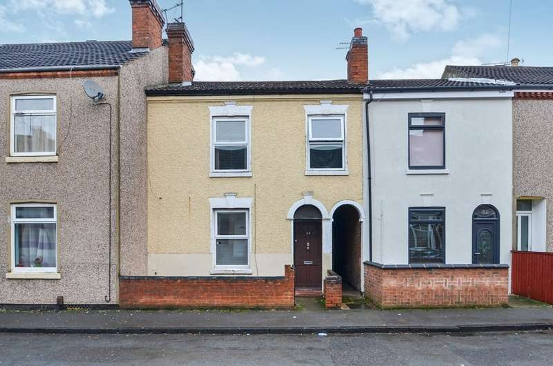 3 Bedrooms Terraced House for sale in Stephen Street, Rugby