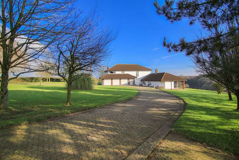 5 Bedrooms Detached House for sale in Broad Close Lane, Llancarfan, Vale Of Glamorgan