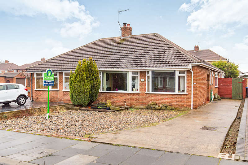 2 Bedrooms Semi Detached Bungalow for sale in Aylton Drive, Middlesbrough, TS5