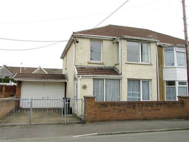 3 Bedrooms Semi Detached House for sale in Godfrey Avenue, Glynneath, Neath, West Glamorgan
