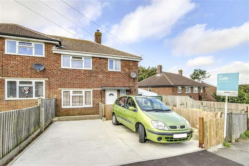 2 Bedrooms Semi Detached House for sale in Northdown Close, Newhaven