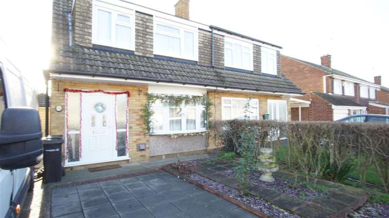 3 Bedrooms Semi Detached House for rent in Viking Road, Gravesend