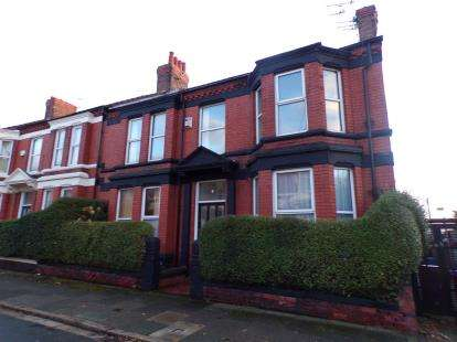 4 Bedrooms End Of Terrace House for sale in Norwich Road, Wavertree, Liverpool, Merseyside, L15