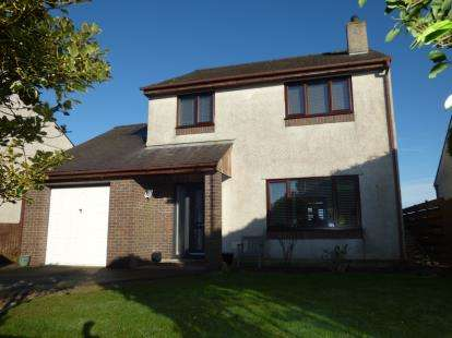 3 Bedrooms Detached House for sale in Stad Penrhiw, Rhostrehwfa, LLangefni, Anglesey, LL77