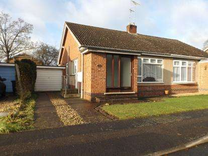2 Bedrooms Bungalow for sale in Jerwood Way, Little Bowden, Market Harborough, Leicestershire