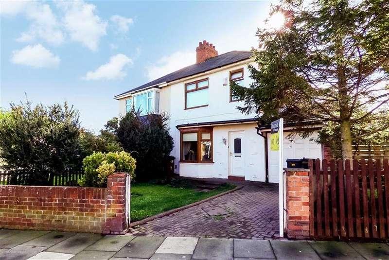 3 Bedrooms Semi Detached House for sale in Burnbank Avenue, Wellfield, Tyne Wear