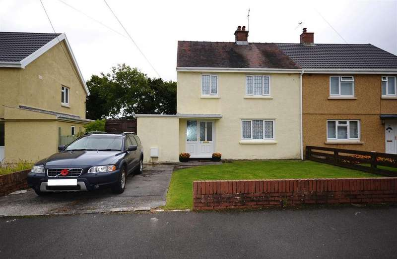 3 Bedrooms Semi Detached House for sale in Argoed Crescent, Trimsaran, Kidwelly