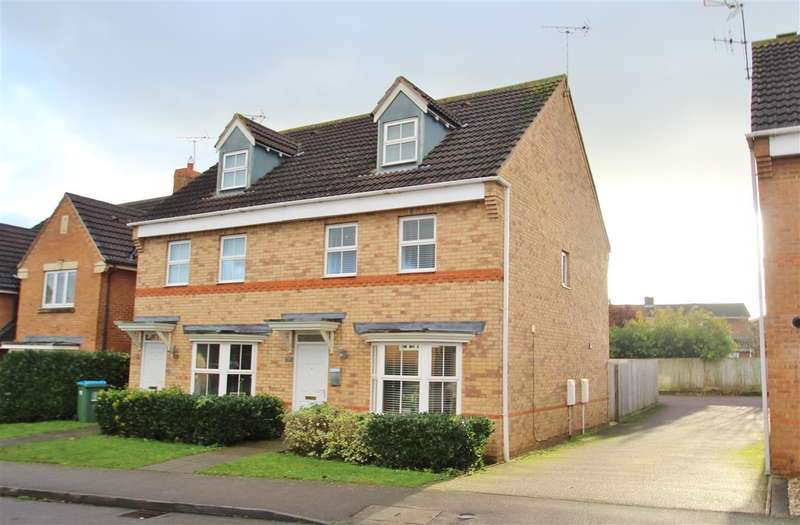 3 Bedrooms Semi Detached House for sale in Treefields, Buckingham
