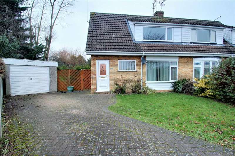 3 Bedrooms Semi Detached House for sale in Walnut Close, Waddington, Waddington, Lincoln