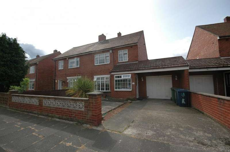 3 Bedrooms Semi Detached House for sale in Horsley Vale, South Shields