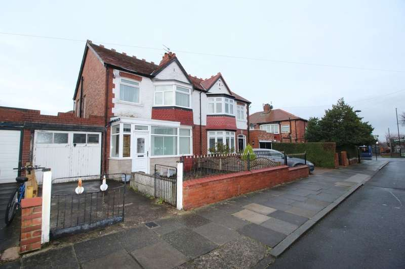 3 Bedrooms Semi Detached House for sale in Townsville Avenue, Monkseaton , NE25