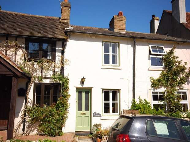2 Bedrooms Terraced House for sale in 2, Sun Cottage, Twitton Lane, Otford, Kent