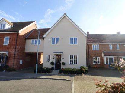 4 Bedrooms Link Detached House for sale in Hadleigh, Ipswich, Suffolk