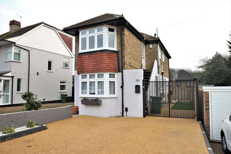 3 Bedrooms Maisonette Flat for sale in Pinnacle Hill , Bexleyheath, Kent, DA7 6AG
