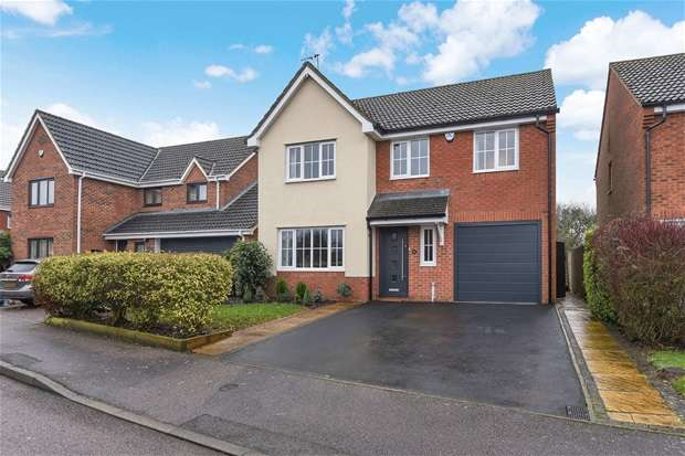 4 Bedrooms Detached House for sale in Coltsfoot Road, Rushden