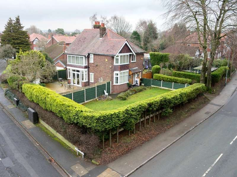 4 Bedrooms Detached House for sale in Torkington Road, Hazel Grove, Stockport SK7 4RH