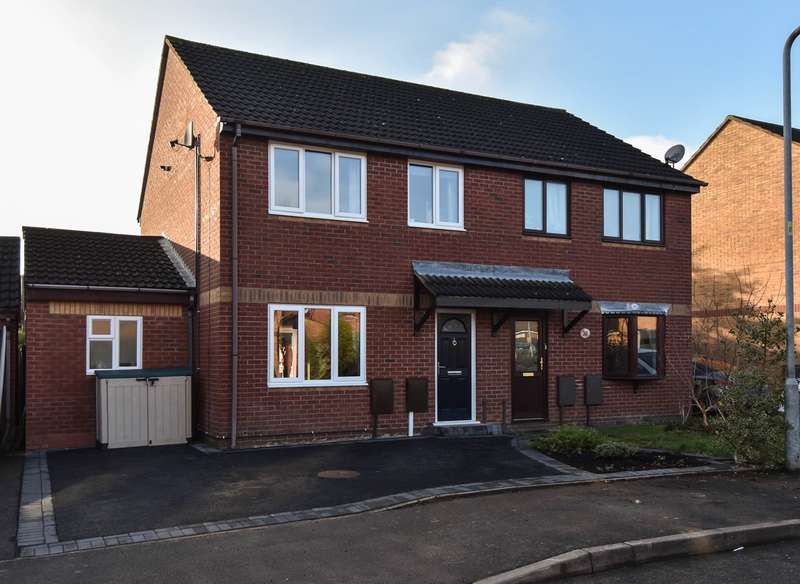 3 Bedrooms Semi Detached House for sale in Parkwood Road, Bromsgrove, B61