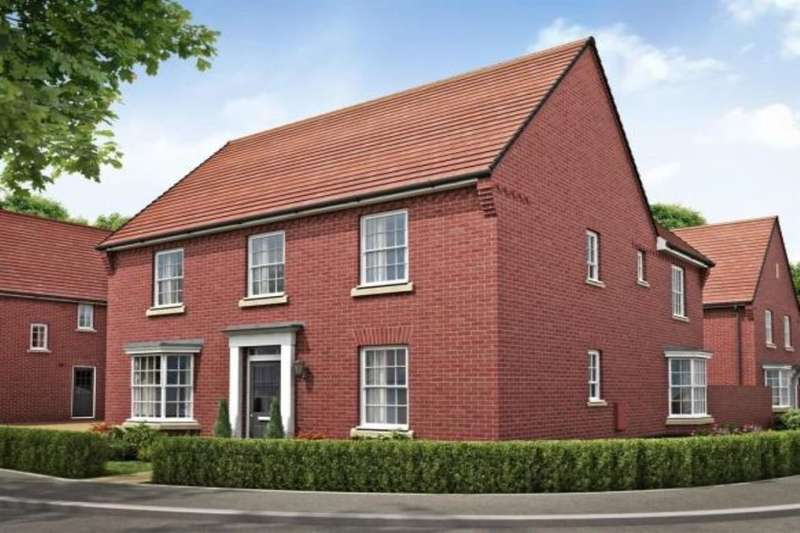 4 Bedrooms Detached House for sale in Lawley Drive, Lawley, Telford, TF3