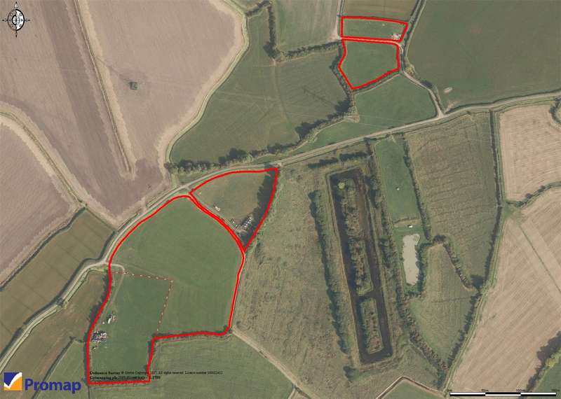 Land Commercial for sale in 12.52 Acres Of Agricultural Pasture, Perry Green, Bridgwater, Somerset, TA5