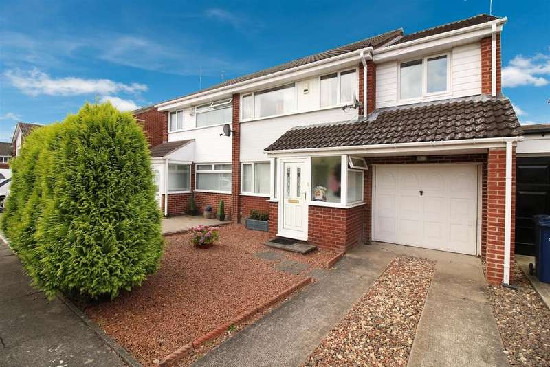 4 Bedrooms Semi Detached House for sale in Edinburgh Court, Newcastle Upon Tyne