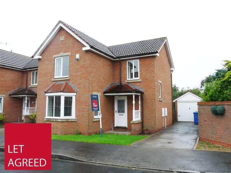 3 Bedrooms Detached House for rent in 4 Jervis Court, Sutton on Derwent