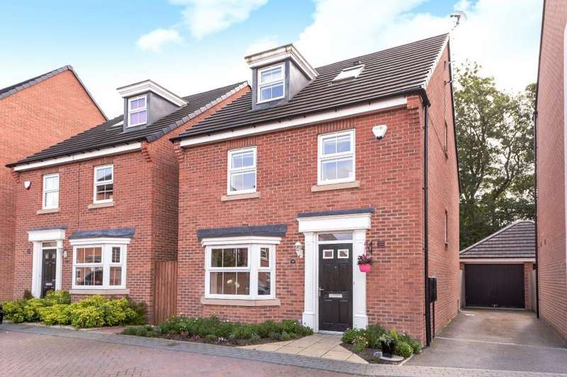 4 Bedrooms Detached House for sale in HENRY GROVE, PUDSEY,LEEDS, LS28 7FD