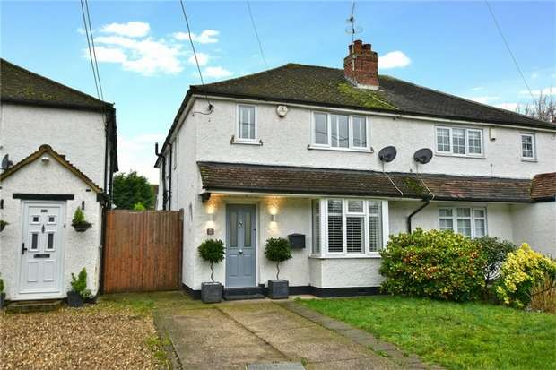3 Bedrooms Semi Detached House for sale in 182 Swallow Street, IVER, Buckinghamshire