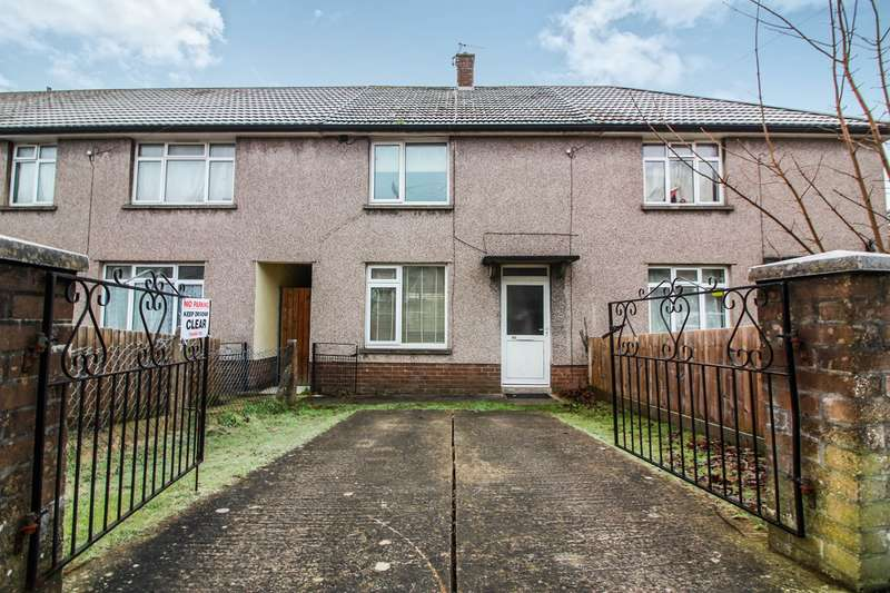 2 Bedrooms Terraced House for sale in Underhill Crescent, Abergavenny, NP7