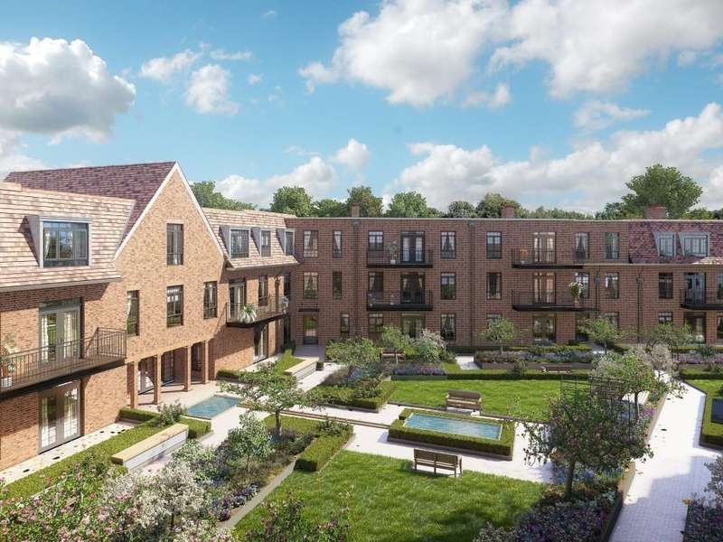 2 Bedrooms Apartment Flat for sale in Hampstead Reach, NW11