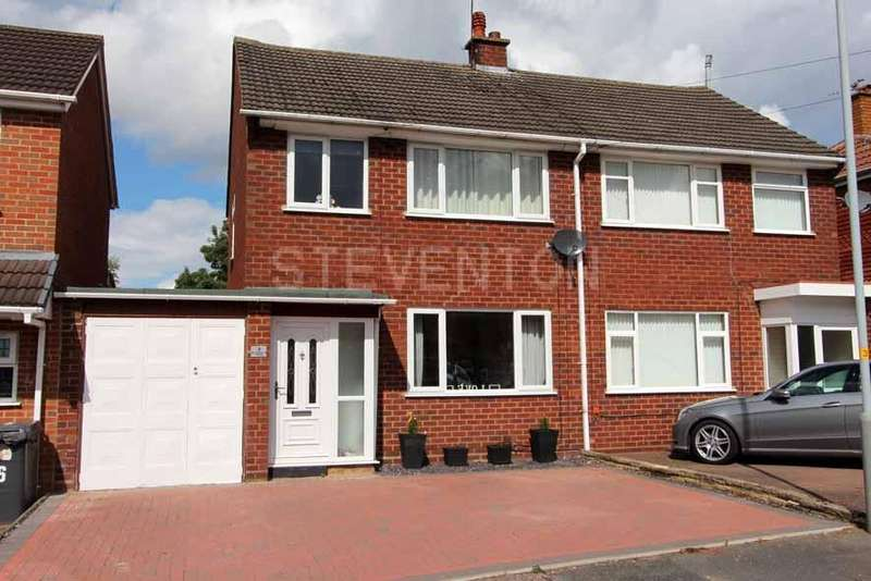 3 Bedrooms Semi Detached House for sale in Ackleton Gardens, Bradmore, Wolverhampton