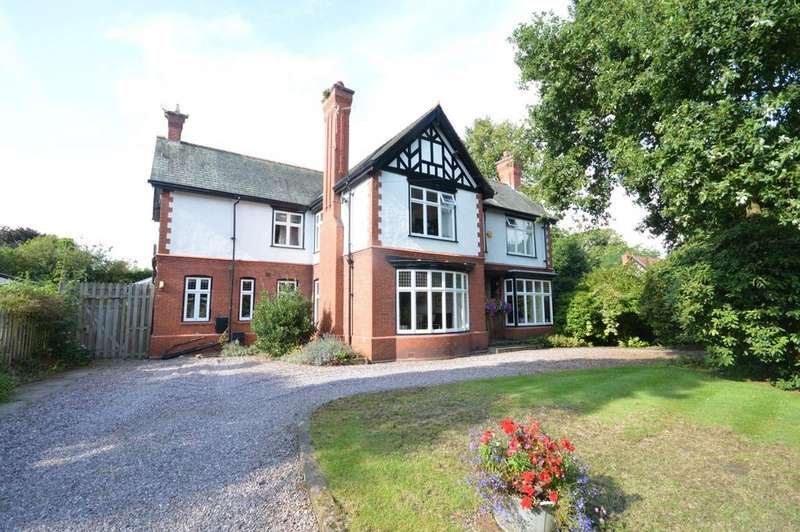 5 Bedrooms Detached House for sale in Hill Top Road, Grappenhall, Warrington