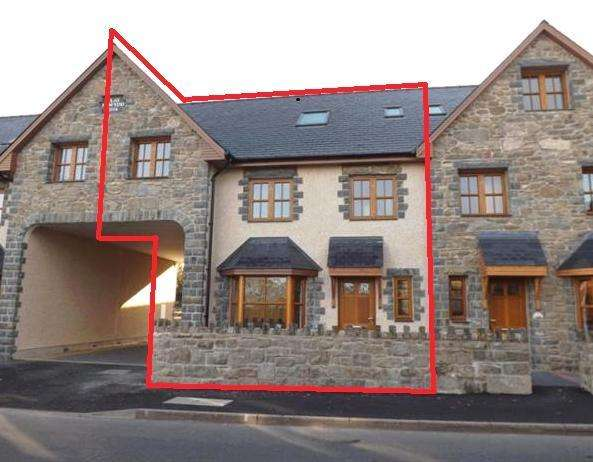 4 Bedrooms Mews House for sale in 6 Plas Newydd, Llanbedr, LL45